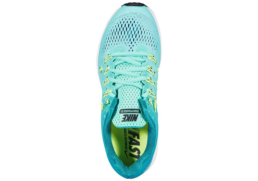 nike air max bg élite - Nike Air Zoom Pegasus 33 - Chaussures de running Femme - turquoise ...